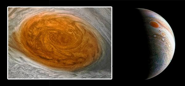 Jupiter's swirling mystery
