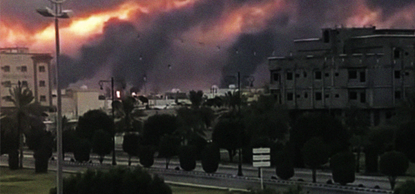 Saudi oil drone attack