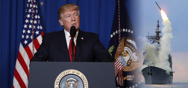 Trump's action in Syria