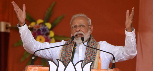 Modi's landslide win