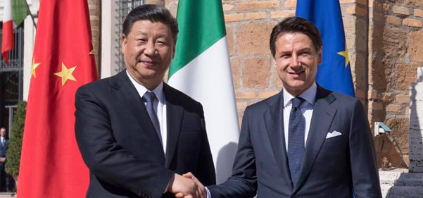 Italy on the new silk road